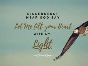 Discerners, God is healing your perspective